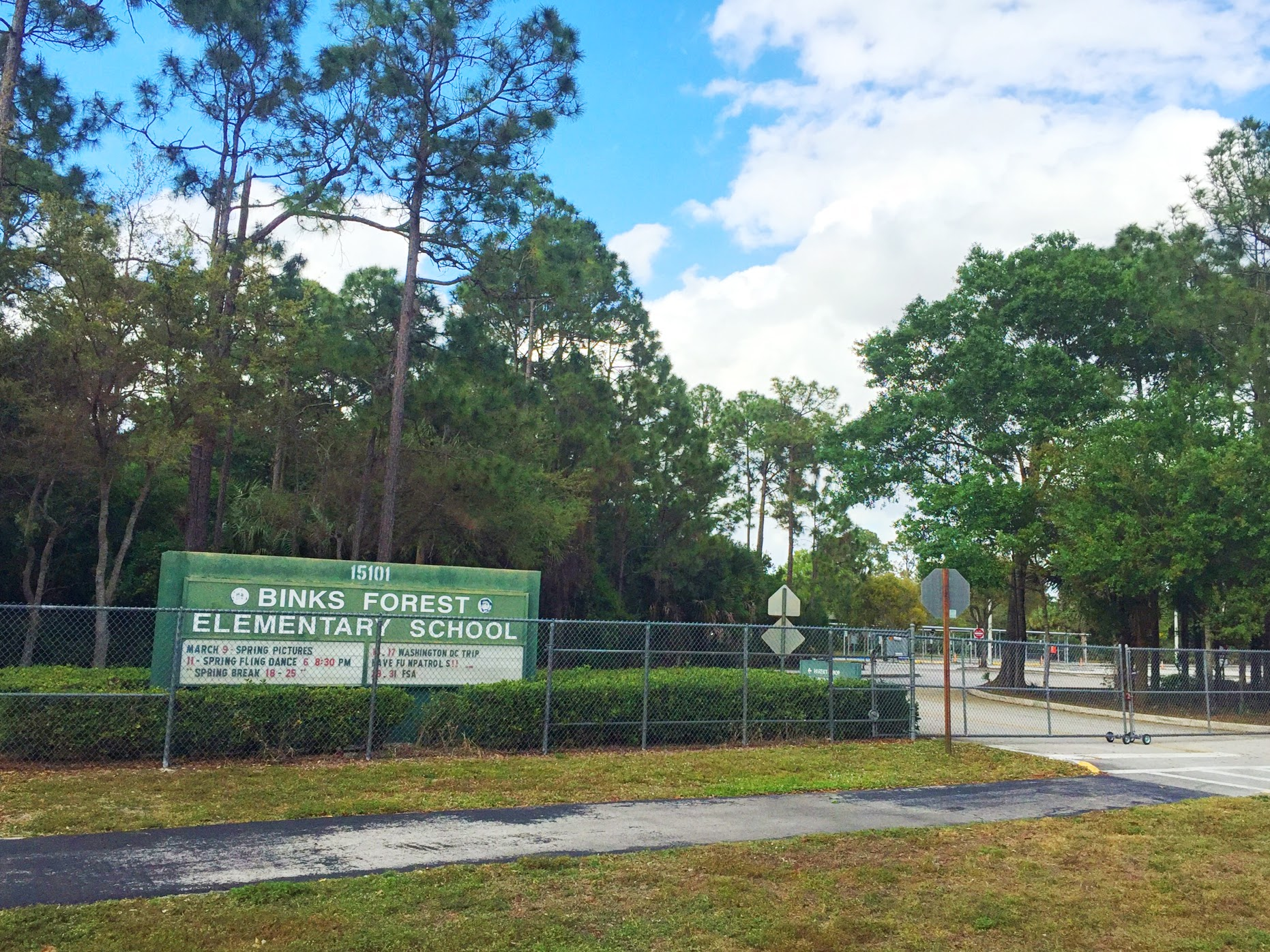 Wellington FL School Information |  Binks Forest Elementary School