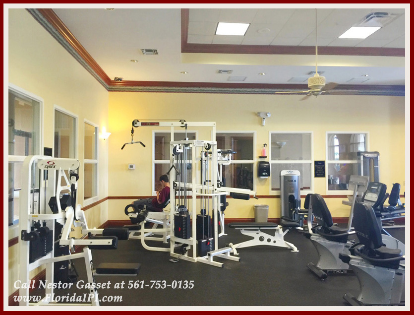 The Isles at Wellington Lakefront Home For Rent - Community Fitness Center
