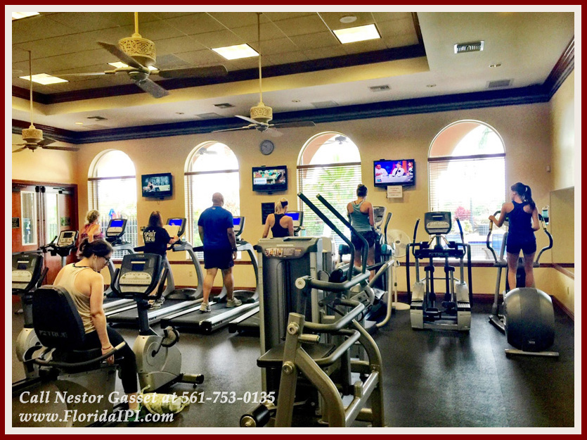 The Isles at Wellington Lakefront Home For Rent - Community Gym