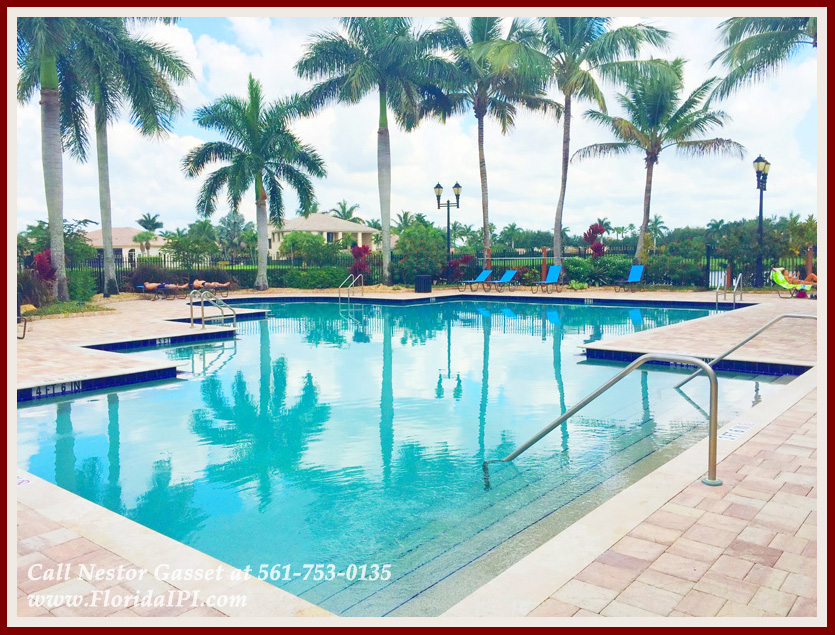 The Isles at Wellington Lakefront Home For Rent - Community Swimming Pool