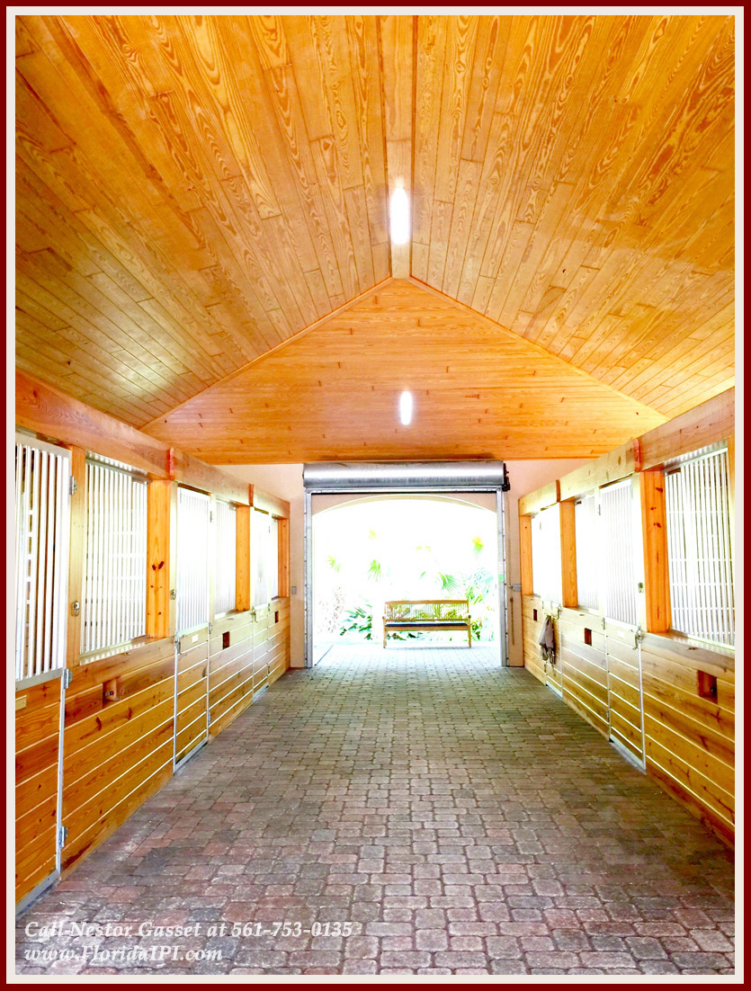 Equestrian Homes For Sale in Fox Trail Loxahatchee FL - 1154 -1092 Clydesdale Drive Loxahatchee FL 33470 - Barn