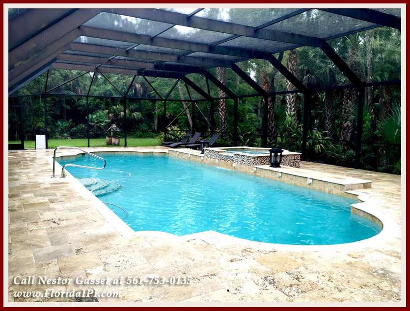Equestrian Homes For Sale in Fox Trail Loxahatchee FL - 1154 -1092 Clydesdale Drive Loxahatchee FL 33470 - Heated Pool With Salt Water System