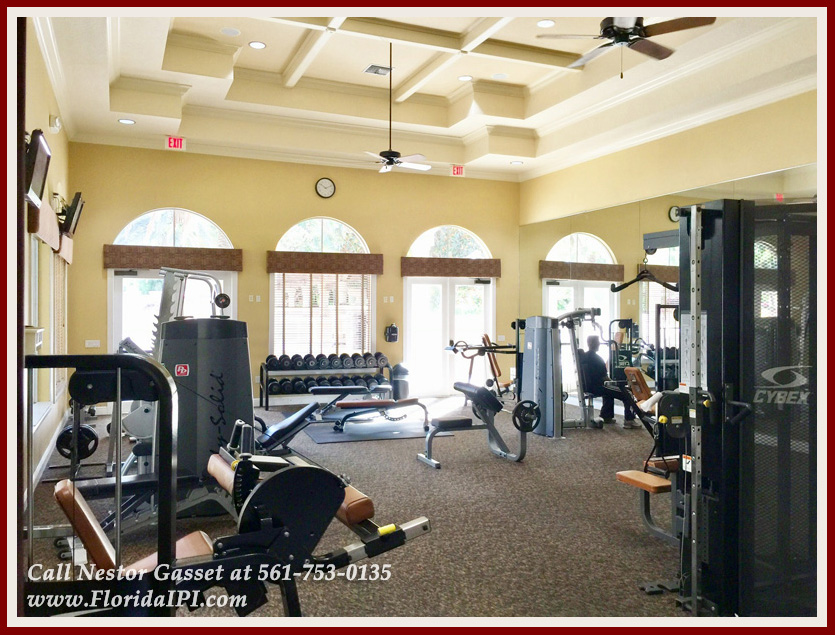10392 Trianon Pl Wellington FL 33449 - Community Fitness Center - Versailles Wellington FL Home For Sale - Florida IPI International Properties and Investments