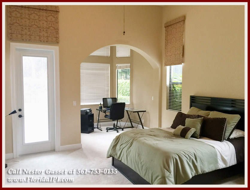 10392 Trianon Pl Wellington FL 33449 - Master Bedroom -Versailles Wellington FL Home For Sale - Florida IPI International Properties and Investments