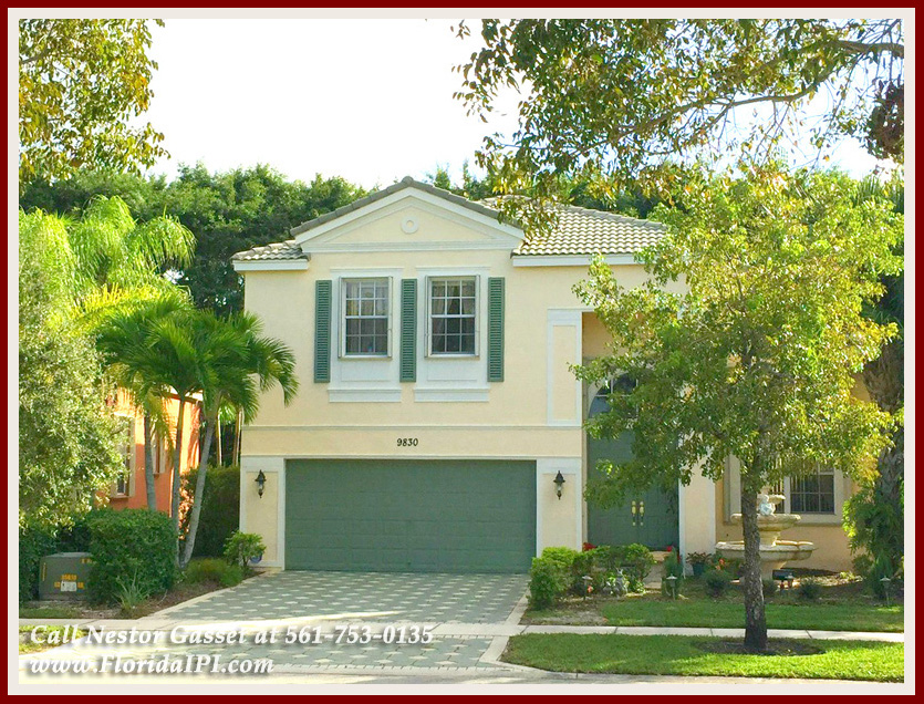 Olympia Home For Sale in Wellington FL - Enjoy the resort-style amenities when you move into this Mediterranean Wellington FL home for sale in Olympia!