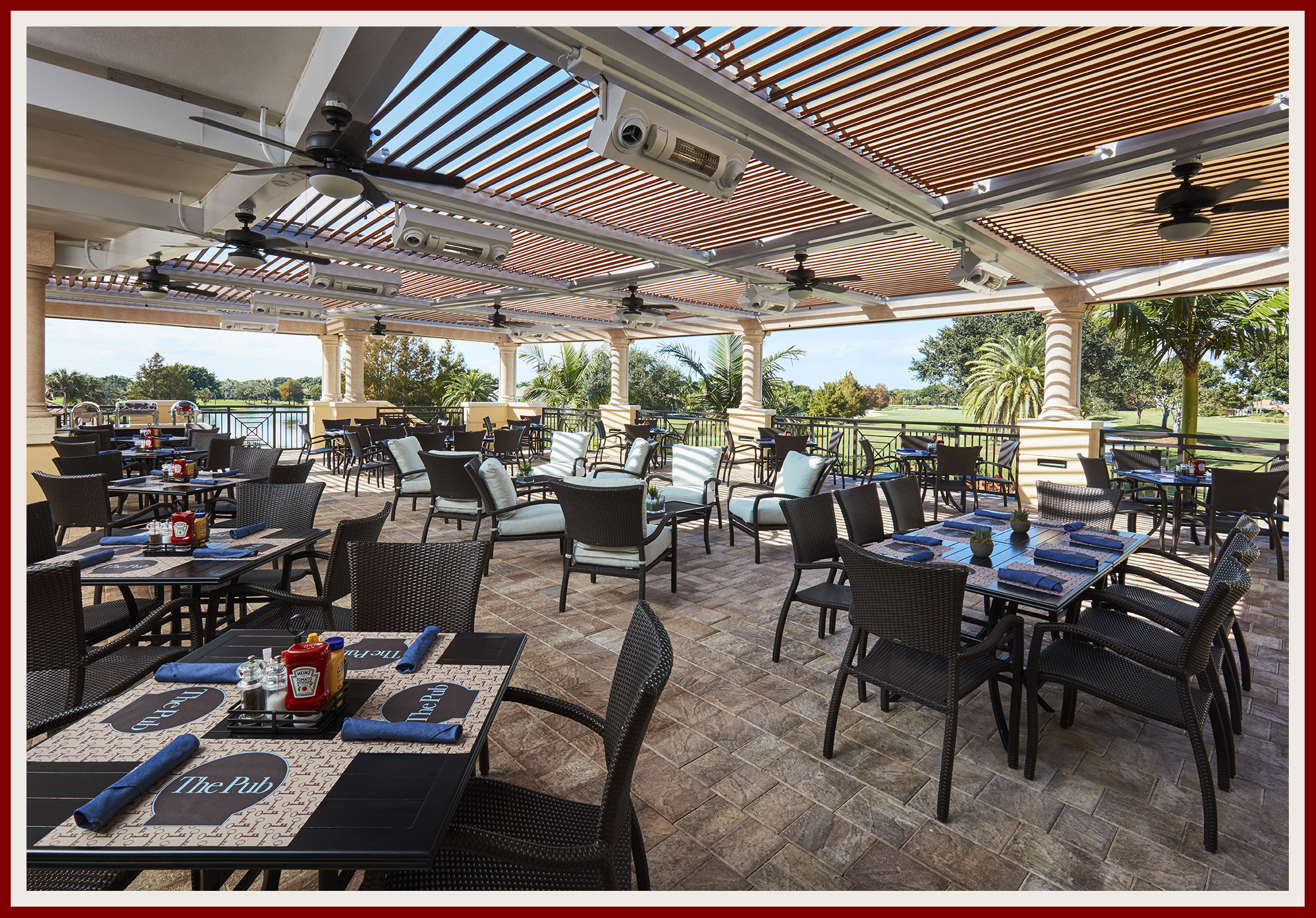 Ibis Golf and Country Club Homes For Sale The Pub Terrace