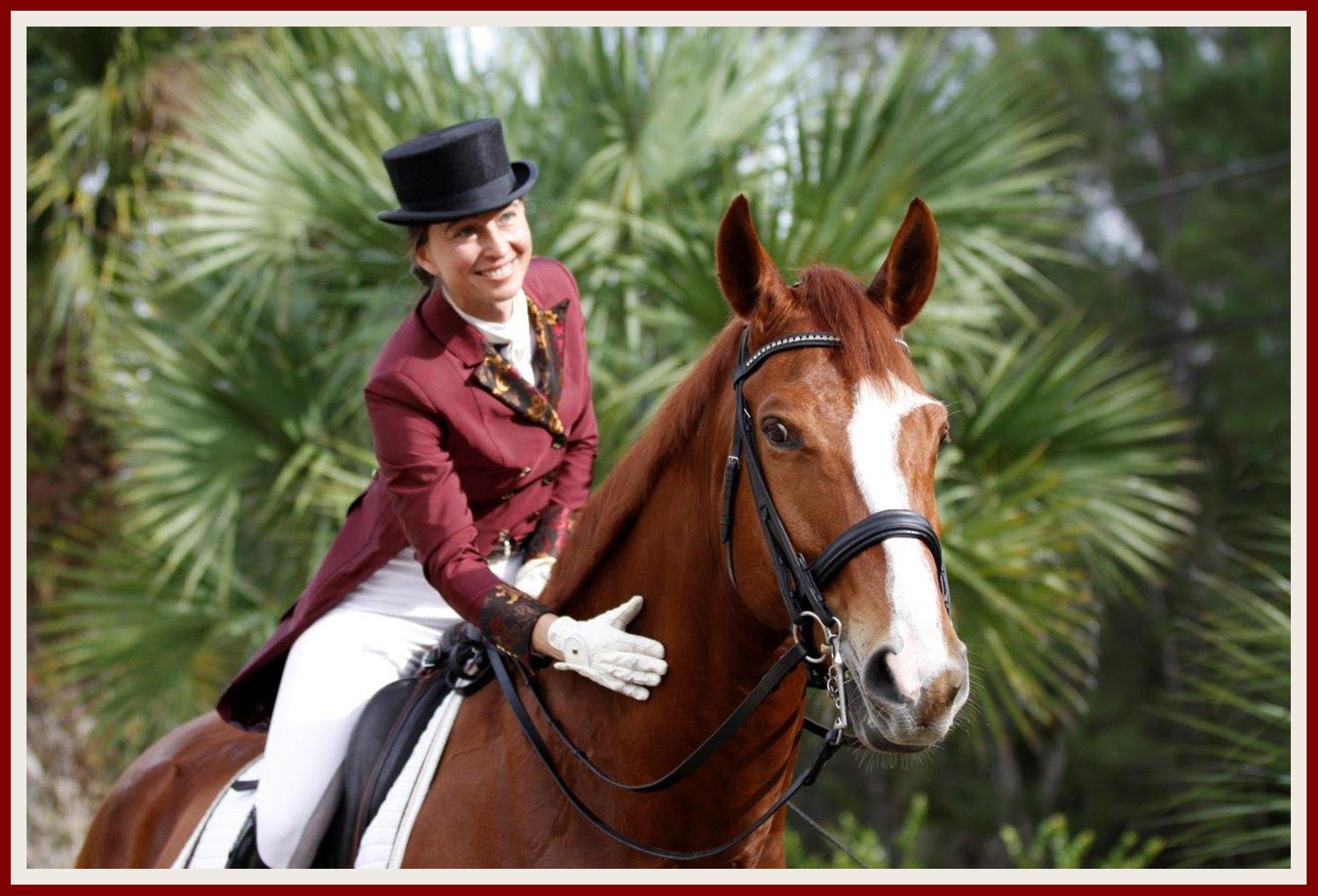 Equestrian Dressage Trainer Lana Gorski Endorses Broker Nestor Gasset