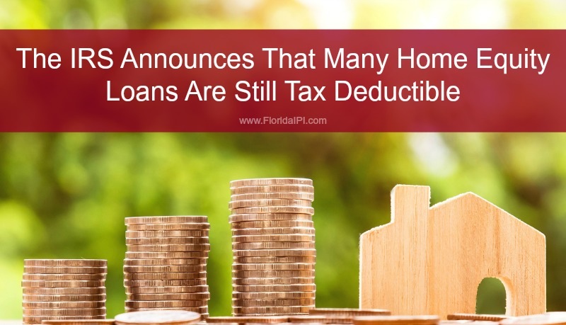 Tax Deductible home equity loan home equity line of credit HELOC second mortgage