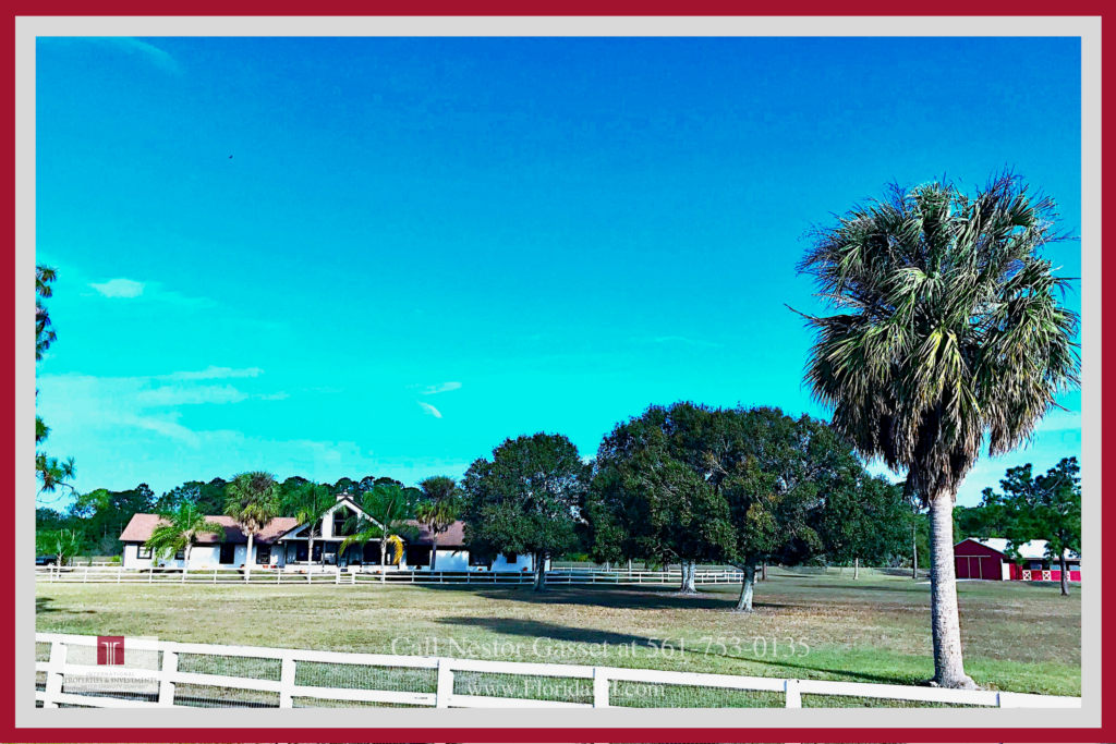 Loxahatchee FL Equestrian Property for Sale - This Loxahatchee FL equestrian property is your chance of achieving your dream equestrian lifestyle.
