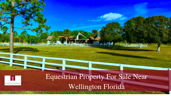 Equestrian Property for Sale in Loxahatchee FL - This Loxahatchee FL equestrian property offers a private oasis for you and your horses.